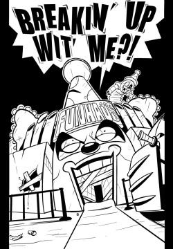 - DC Comics - Nightwing x Harley Quinn