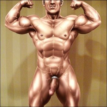 [Gas Heckman] My Fuck Buddy Bodybuilder cover