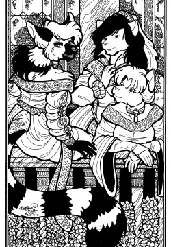 Women of Tall Tails by Daphne Lage